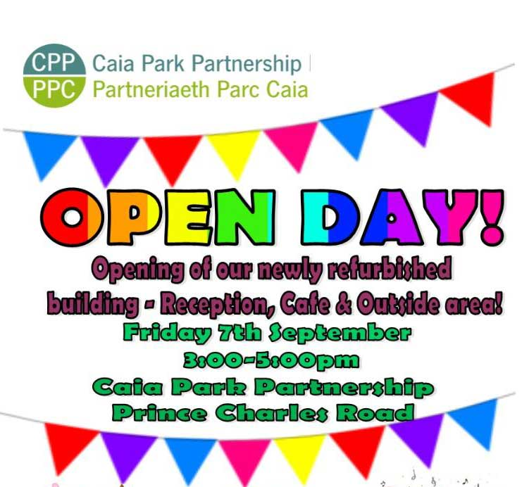 caia park open day